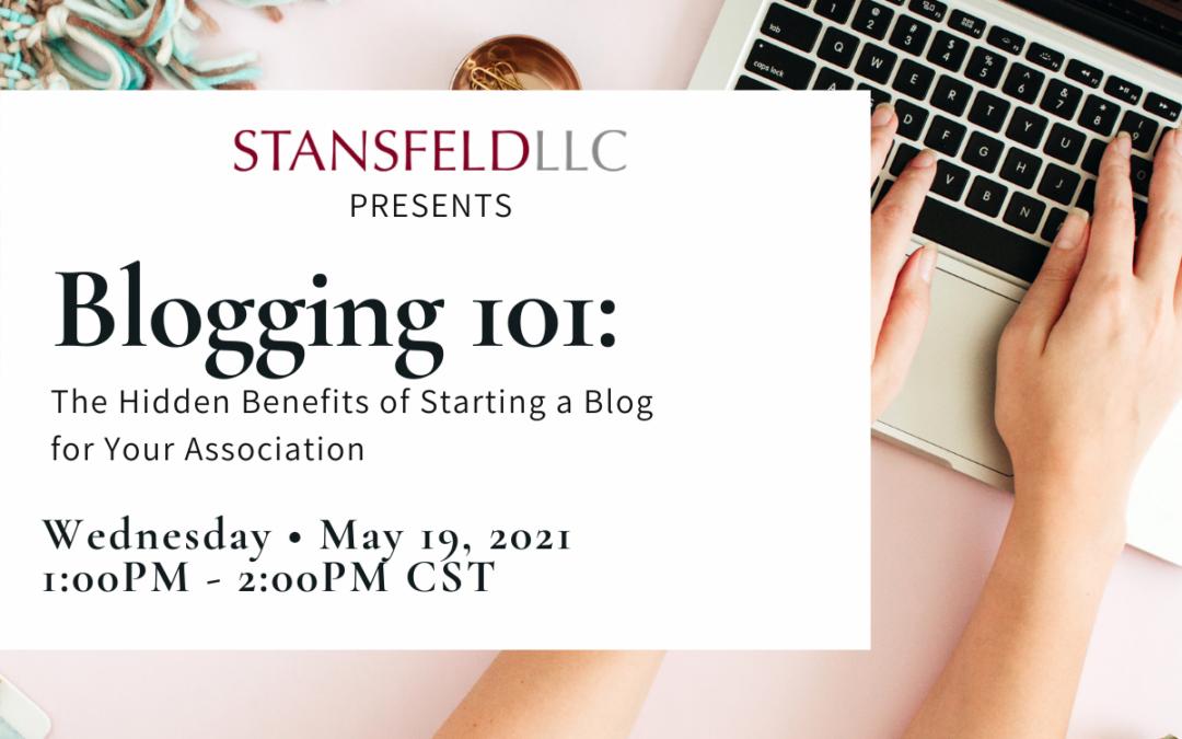 You're Invited: Blogging 101 Webinar